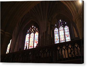 Christian Canvas Print - Washington National Cathedral - Washington Dc - 011399 by DC Photographer