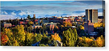 Washington State University In Autumn Canvas Print