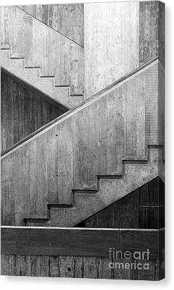 Washington University Eliot Hall Stairway Canvas Print by University Icons