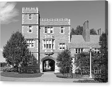 Washington University Mc Millen Hall Canvas Print by University Icons