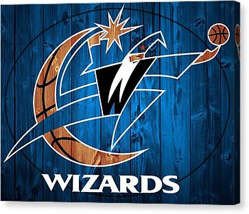 Washington Wizards Barn Door Canvas Print