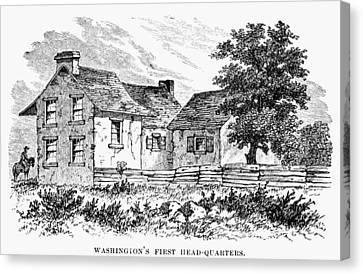 Washingtons Headquarters Canvas Print by Granger