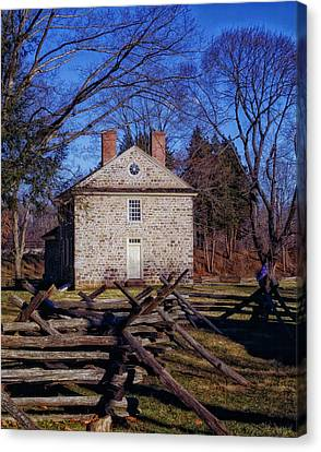 Washington's Headquarters - Valley Forge Canvas Print