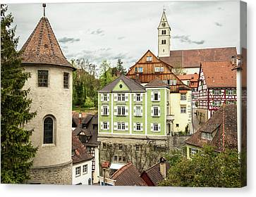 Wasserburg, On Lake Constance, Germany Canvas Print by Sheila Haddad