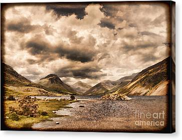 Wast Water Lake District England Canvas Print by Colin and Linda McKie