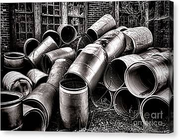 Waste Canvas Print by Olivier Le Queinec