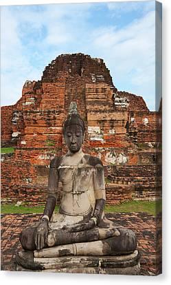 Wat Chaiwatthanaram, Ayutthaya Canvas Print by Keren Su