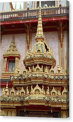 Wat Chalong - Phuket Thailand - 011311 Canvas Print by DC Photographer