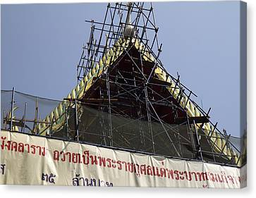 Wat Pho - Bangkok Thailand - 01131 Canvas Print