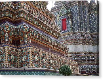Wat Pho - Bangkok Thailand - 011312 Canvas Print by DC Photographer
