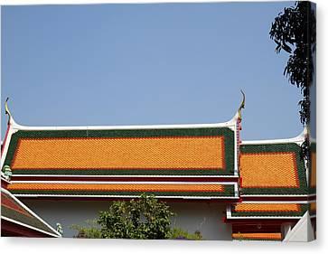 Wat Pho - Bangkok Thailand - 01136 Canvas Print by DC Photographer