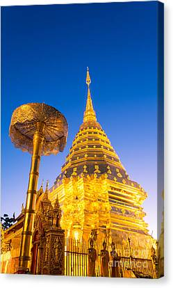 Wat Phra Doi Suthep - Chiang Mai - Thailand Canvas Print by Matteo Colombo