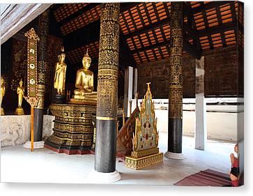 Wat Phra That Lampang Luang - Lampang Thailand - 011322 Canvas Print