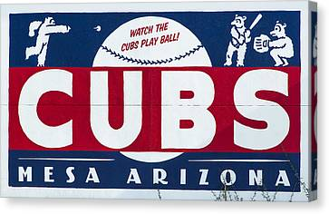 Watch The Cubs Canvas Print by Stephen Stookey