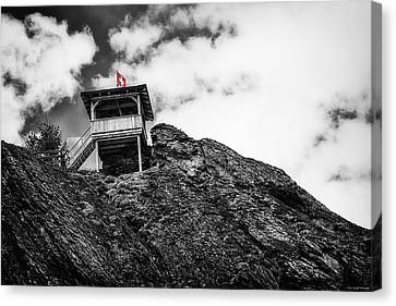 Watch Tower Canvas Print by Ryan Wyckoff