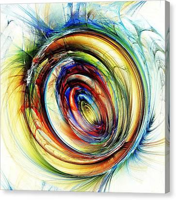 Watchful Eye Canvas Print by Anastasiya Malakhova