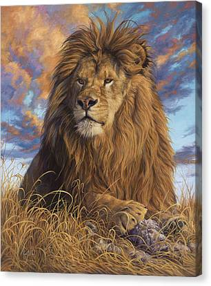 Watchful Eyes Canvas Print by Lucie Bilodeau