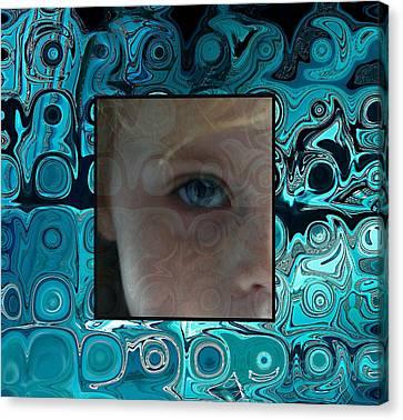 Watching Canvas Print by Ellen Henneke