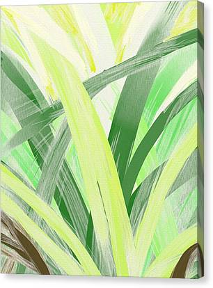 Watching Grass Grow Canvas Print