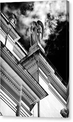 Watching Over Fatima Canvas Print by John Rizzuto