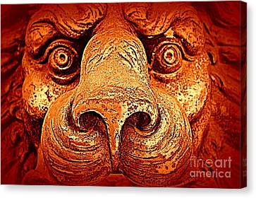 Watching You Canvas Print by Clare Bevan