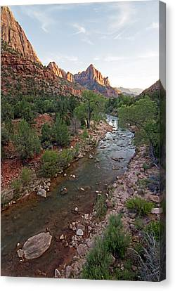 Watchman Sunset Canvas Print