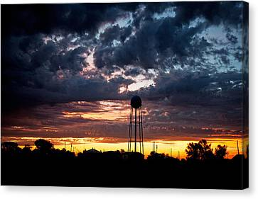 Watchtower Canvas Print by Shirley Heier