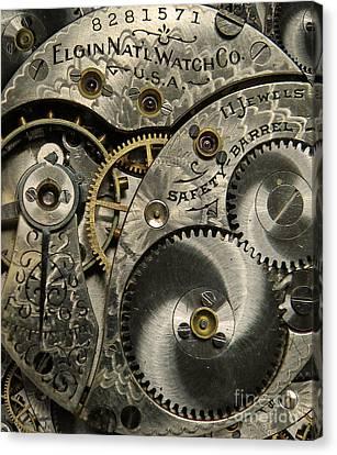 Watchworks Canvas Print