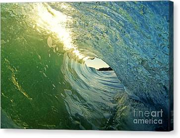 Water And Light Canvas Print by Paul Topp