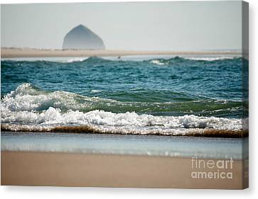 Water Blanket Canvas Print
