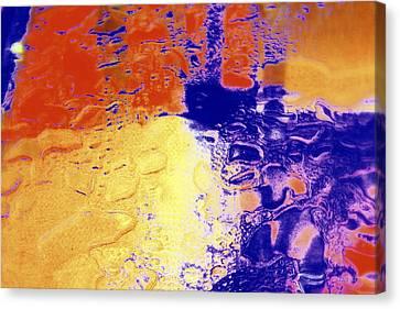 Water Blocks Canvas Print