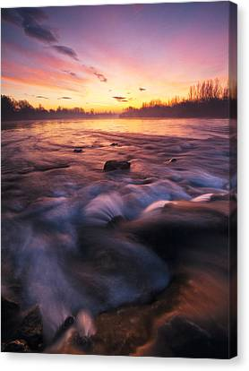 Water Claw Canvas Print by Davorin Mance