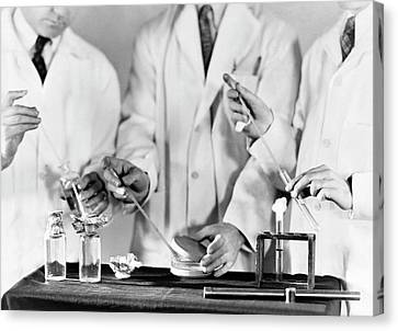 Water Contamination Test Procedure Canvas Print by Cdc