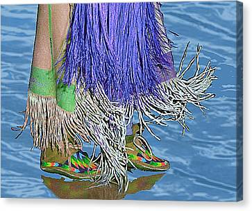 Water Dancing Canvas Print by Kae Cheatham