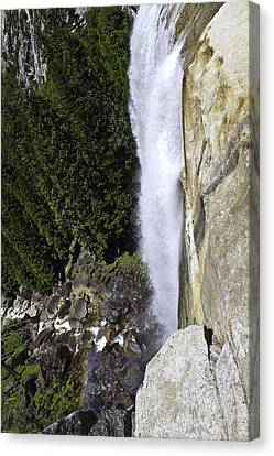 Canvas Print featuring the photograph Water Fall by Brian Williamson