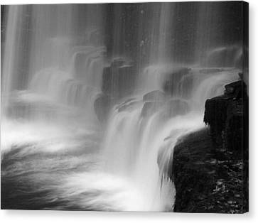 Water Fall Canvas Print by Pete Hemington