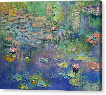 Michael Canvas Print - Water Garden by Michael Creese