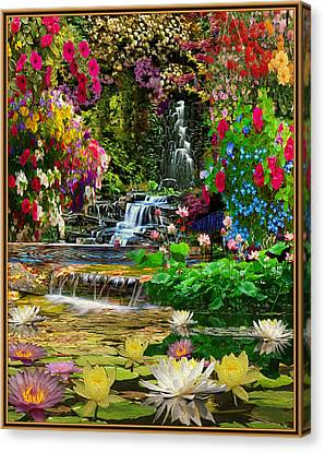 Water Gardens Canvas Print