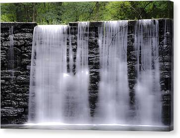 Water Like Silk Canvas Print by Bill Cannon