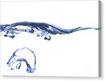 Wave - Splash Canvas Print by Michal Boubin