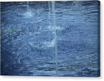 Water Canvas Print by Mustafa Abdullah