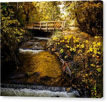 Water Of Life Canvas Print by Jordan Blackstone