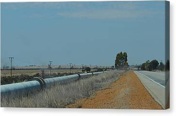 Water Pipeline Canvas Print