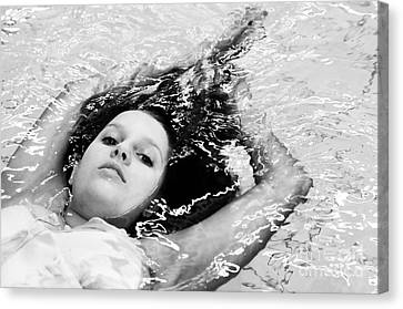 Water Portrait Canvas Print