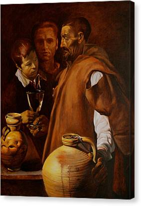 Water Seller Of Seville Canvas Print by Dan Petrov