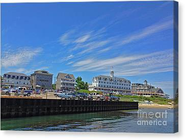 Water Street Block Island Canvas Print by Todd Breitling