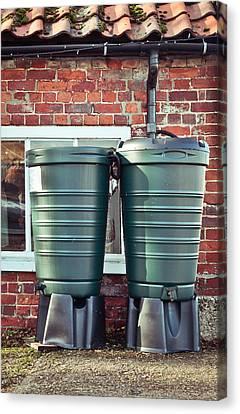 Water Tanks Canvas Print