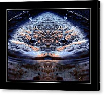 Water Theatre - Games People Play Canvas Print by Ernestine Manowarda