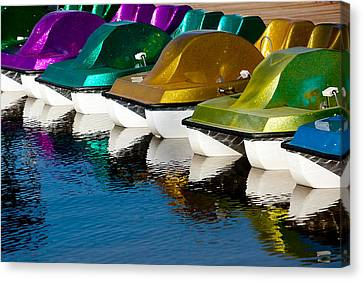 Water Toys Canvas Print by Art Block Collections