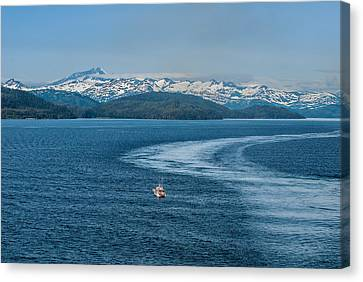 Water Trail Canvas Print